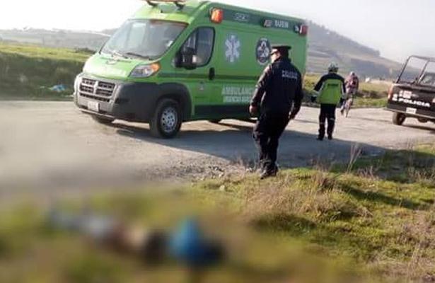 Amanece sin signos vitales en Toluca