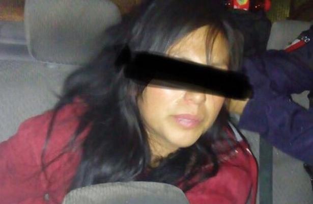Detienen a damita por robarse un taxi en la Cuauhtémoc