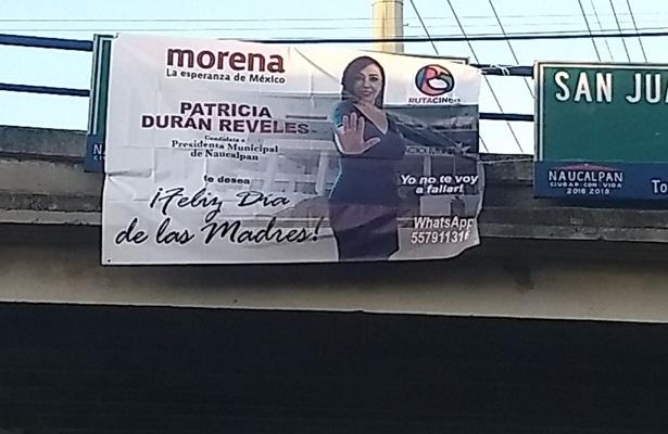 Denuncia PAN a Patricia Durán ante el IEEM