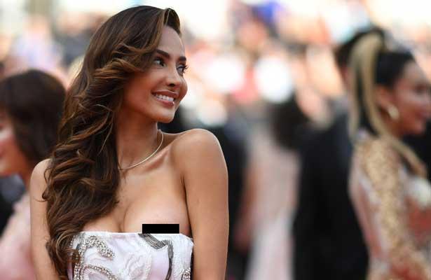 Galería: Patricia Contreras enseña de más en Cannes