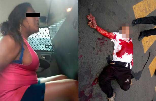 Una mujer persiguió al taxista y lo mató de una cuchillada