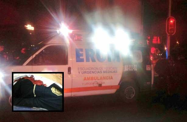 Otro poli baleado en la Venustiano Carranza