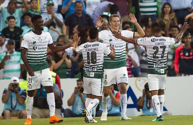 Santos y Toluca, en busca de la gloria