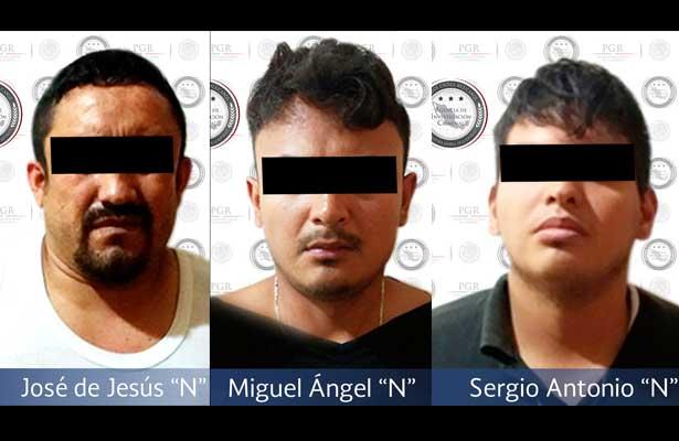 Capturan a banda de secuestradores en Jalisco