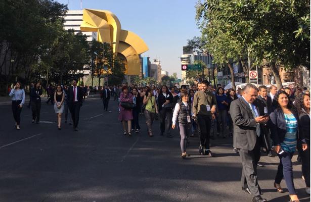 Sismo de 5.2 sacude la Ciudad de México