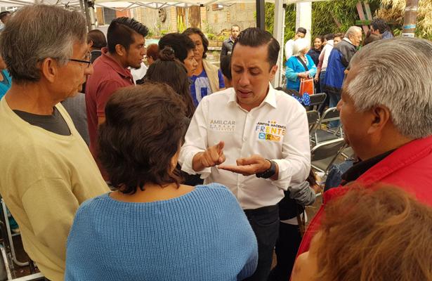 Amílcar Ganado se compromete defender las barrancas en Álvaro Obregón