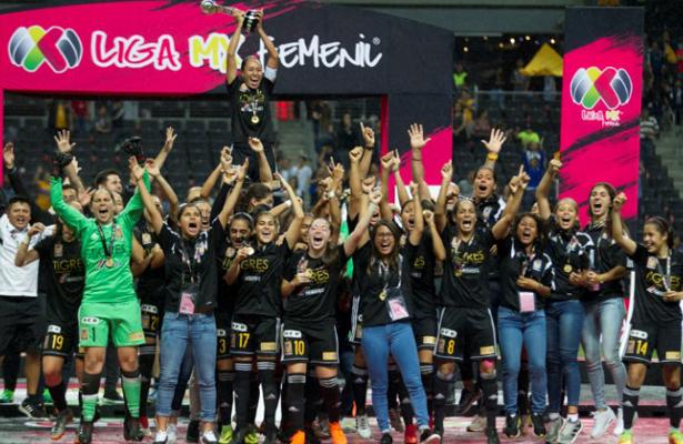 Tigres, campeón de la Liga MX Femenil