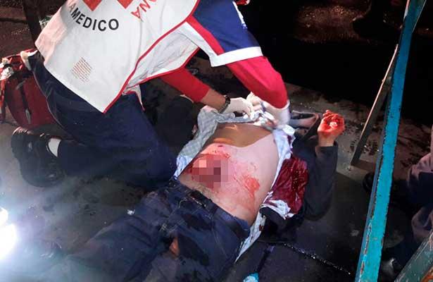 "La familia del ""Queso de puerco"" ataca transeúntes en Tacuba"