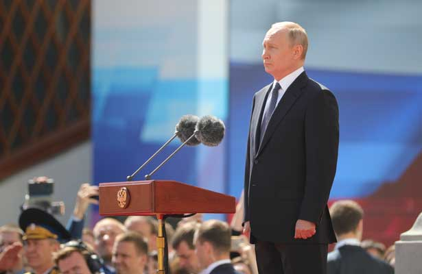 Vladimir Putin toma posesión de su cuarto mandato como presidente de Rusia
