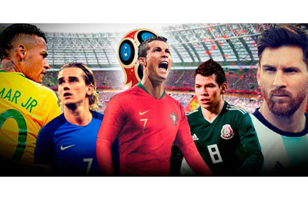Las 7 figuras a seguir en el Mundial