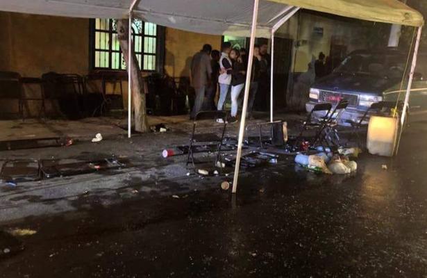 Comando armado irrumpe un velorio en Guadalajara