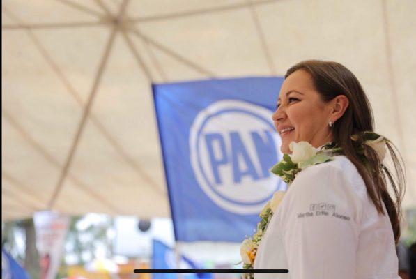 El Partido Nueva Alianza se suma al proyecto de Martha Erika Alonso