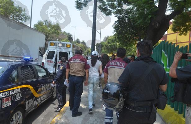 Vecinos salvan a intoxicadas en la Balbuena