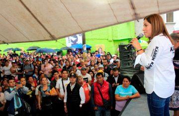 Prioritario atender inseguridad: Karen Quiroga