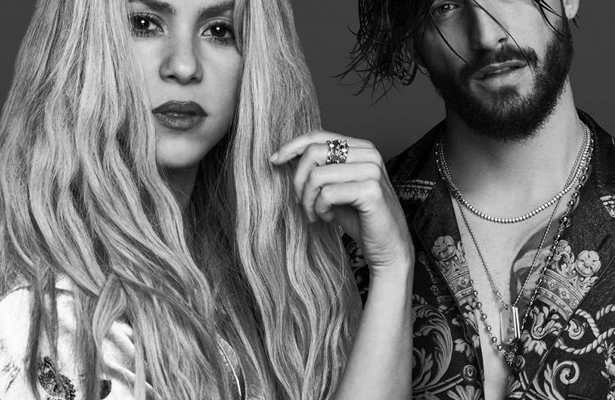"Shakira lanza ""Clandestino"" junto a Maluma"