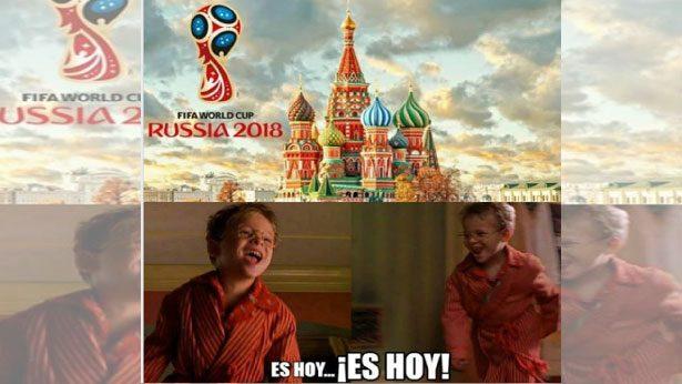 ¡Los memes de la inauguración de Rusia 2018!