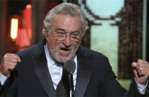 (Video) Insulta Robert De Niro fuertemente a Trump