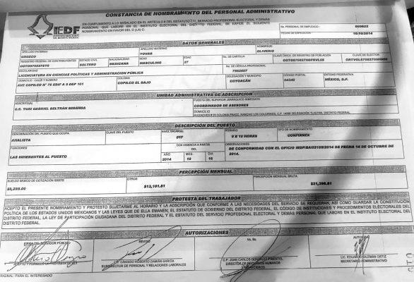 Condena PRD de la CDMX acción de Oliverio Orozco ante el IECM