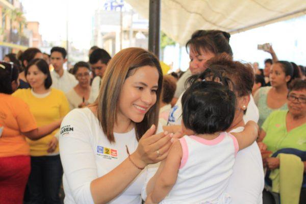 Karen Quiroga gobernará con sentido social en Iztapalapa