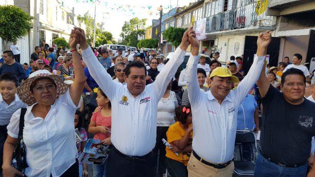 Propone candidato del PRD por Neza continuidad de programas exitosos de seguridad