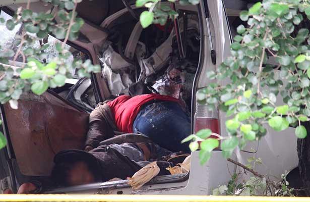 Se duerme y causa ocho muertos en la Puebla-Veracruz