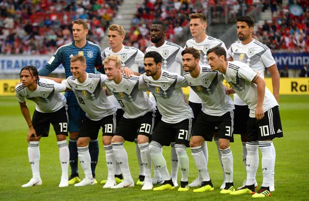 Esta es la Alemania que llegará a Rusia