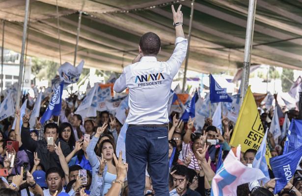 Asume Anaya compromisos ante 10 mil personas de Huehuetoca