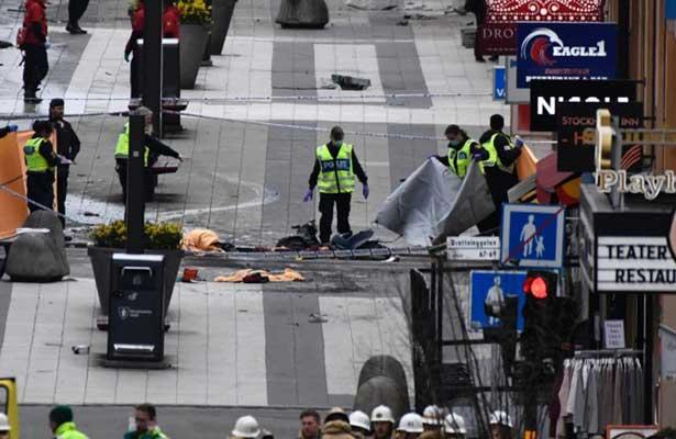 Condenan a autor del atentado con un camión en Estocolmo