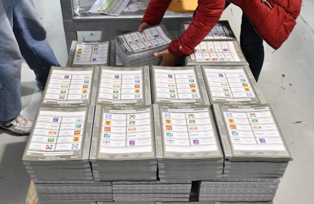 Da IECM banderazo de salida a boletas electorales