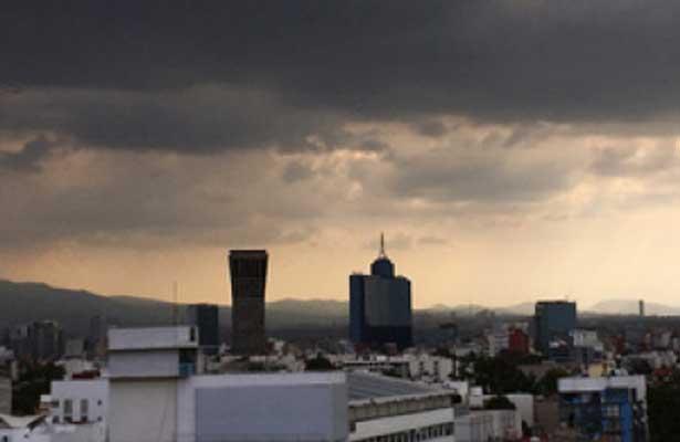 Prevén fuertes lluvias en la Ciudad de México