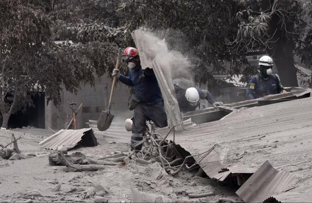 Guatemala confirma 192 desaparecidos por erupción de Volcán de Fuego
