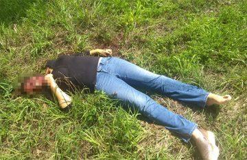 Despiadado asesinato contra joven mujer, a quien le arrancan el rostro