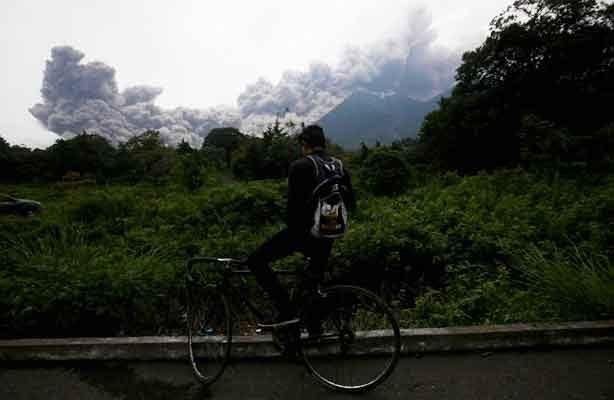 Galería y videos: Erupción del volcán de Fuego de Guatemala