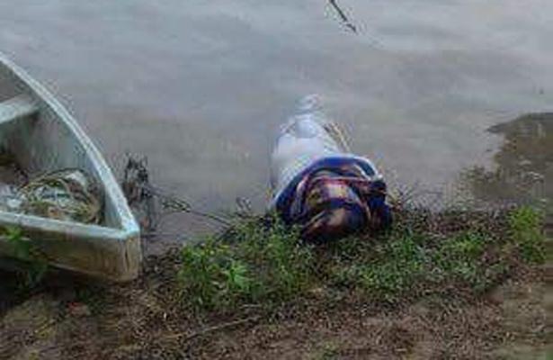 Encuentran cuerpo encobijado en río de Veracruz