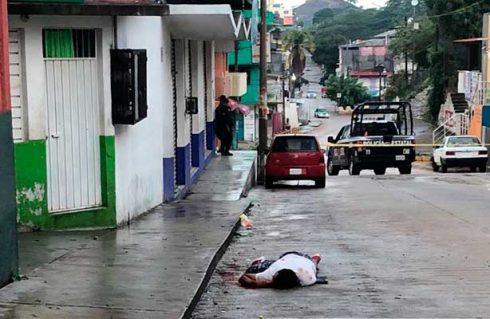Ejecutan a un hombre en Pinotepa Nacional