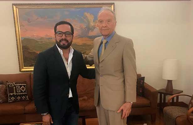 Dialogan Gertz Manera y Romo sobre seguridad en Miguel Hidalgo