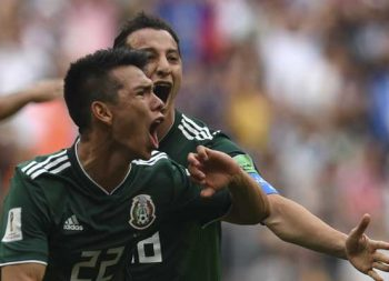 ¡Gózalo México! México 1- Alemania 0  [minuto a minuto]