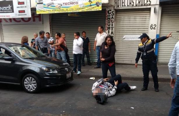 Fallece ladrón que intentó asaltar un Uber en el Centro Histórico