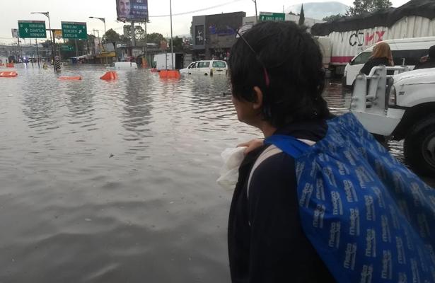 [Fotos] La CDMX 'con el agua hasta el cuello'