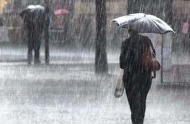 Prevén lluvias a lo largo del día en la capital