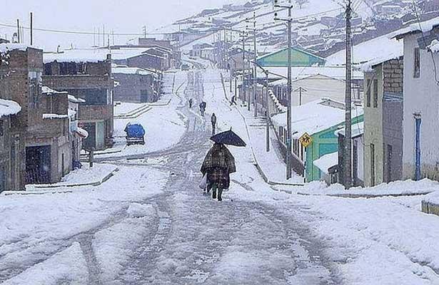 Intensa nevada en Perú acaba con la vida de seis niños