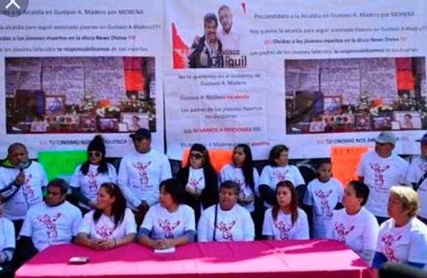 Familiares de víctimas del New´S Divine, exigen cárcel para Chiguil