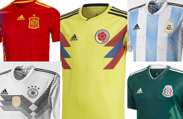 3cd7392f1fa36 Adidas espera vender 8 millones de camisetas vendidas por el Mundial