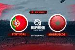 Portugal vs Marruecos en vivo