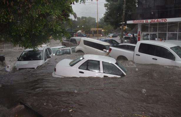 [Videos] Se inunda Aguascalientes