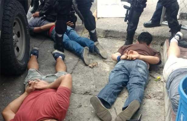 A sangre y fuego rescatan  tres niños secuestrados