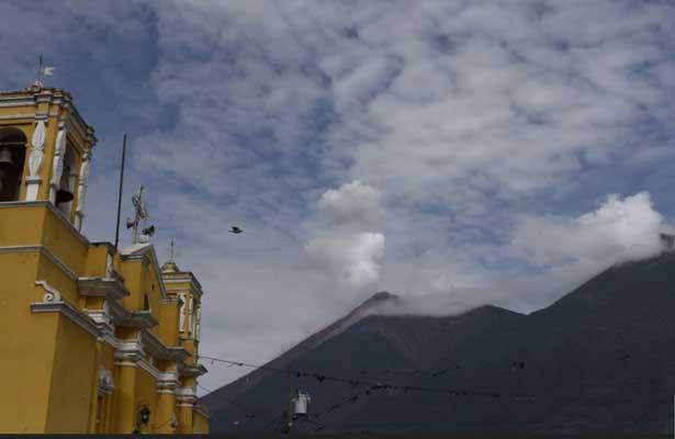 Se activan dos volcanes más en Guatemala