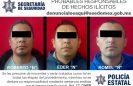 Detienen a cuatro malosos en Coacalco