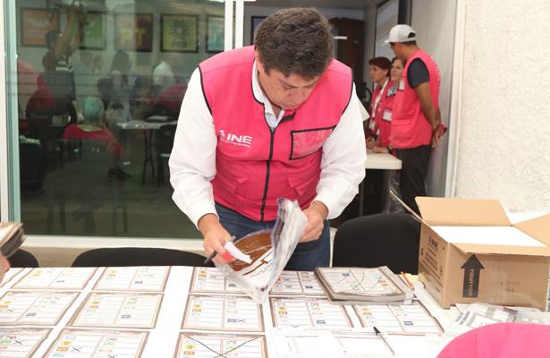 Instala INE los 300 Consejos Distritales para el cómputo de los votos de la Jornada Electoral del 1° de julio