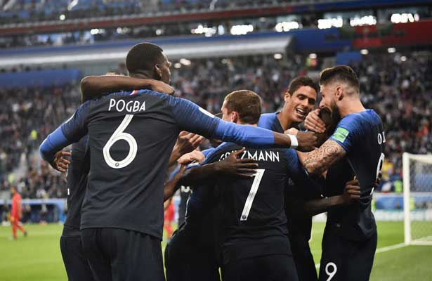 Francia, primer finalista en Rusia 2018